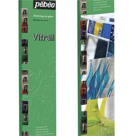 Pebeo Vitrail 25 x 20ml Assorted Glass Painting Set Thumbnail Image 1