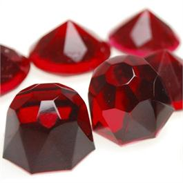 Gedeo Colour Resin 150ml RUBY RED Thumbnail Image 1