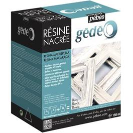 Gedeo Pearl Resin 150ml PEARL WHITE Thumbnail Image 0
