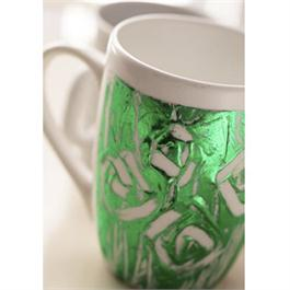 Gedeo Mirror Effect Metal Leaf - GREEN Thumbnail Image 2
