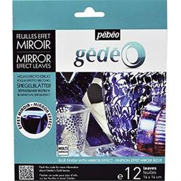 Gedeo Mirror Effect Metal Leaf - BLUE thumbnail