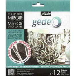 Gedeo Mirror Effect Metal Leaf - SILVER thumbnail