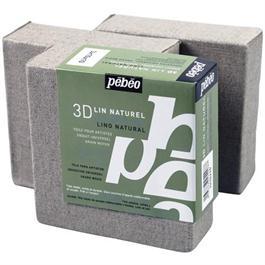 Pebeo 3D Natural Linen Canvases 10 x 10cm SET OF 3 Thumbnail Image 0
