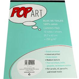 Pebeo POP ART Cotton Canvas Pad - A4 thumbnail