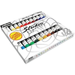 Pebeo Studio Acrylics Set of 20 x 20ml thumbnail