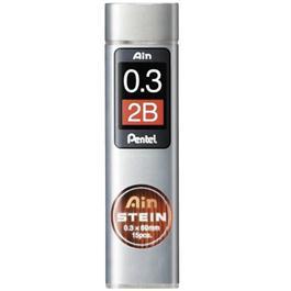 Pentel Ain Stein Leads 0.3mm 2B thumbnail