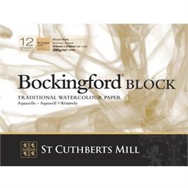 "Bockingford Block 12x9"" 140lbs / 300gsm Rough thumbnail"
