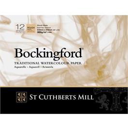 "Bockingford Glued Pad 12x9"" 140lbs / 300gsm Rough thumbnail"