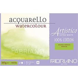Fabriano Artistico Block 14x20in 140lbs 'Rough' 15 Sheets Extra White thumbnail