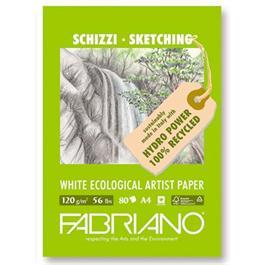 Fabriano Eco Sketch Pad A3 120gsm 40 Sheets thumbnail