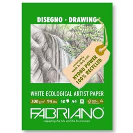 Fabriano Eco Sketch Pad A4 200gsm 50 Sheets thumbnail