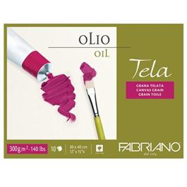 Fabriano Tela Oil Block 9.5x12.5in (24 x 32cm) 300gsm thumbnail