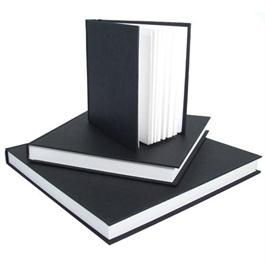 Seawhite Hardback Sketch Book Jumbo Square & Chunky (250 x 250mm) 190 pages thumbnail