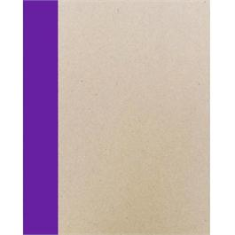 A4 Seawhite Creative Slim Sketchbook PURPLE Spine thumbnail
