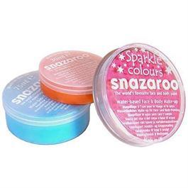 Snazaroo Face Paint Sparkle Colours 18ml Pots thumbnail