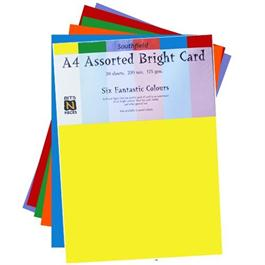 Assorted Coloured Card Packs 175gsm thumbnail