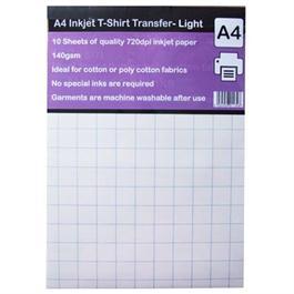 A4 Inkjet T-Shirt Transfer Paper thumbnail