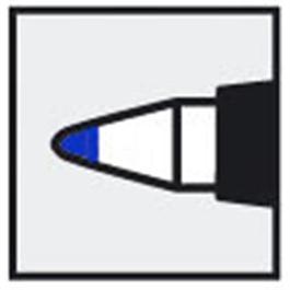 Staedtler Lumocolor Non-Permanent F Blue thumbnail