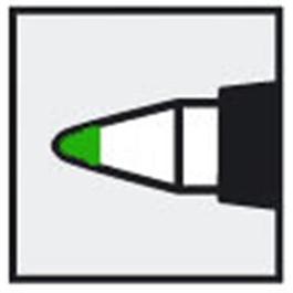 Staedtler Lumocolor Non-Permanent F Green thumbnail