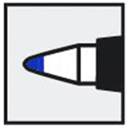 Staedtler Lumocolor Permanent F Blue thumbnail