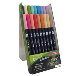 Tombow Dual Brush Pen Set of 18 - Secondary Thumbnail Image 1