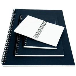 Seawhite Euro Sketchbooks With WHITE Paper & Black Pop Cover Thumbnail Image 0