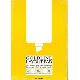Goldline Layout Pad A4 thumbnail
