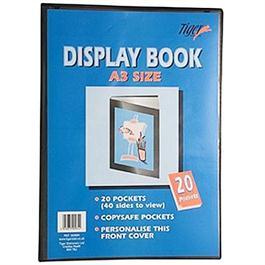 Tiger Display Book A4 40 Pockets thumbnail