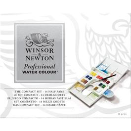 Winsor & Newton Professional Water Colour Compact Set Thumbnail Image 1