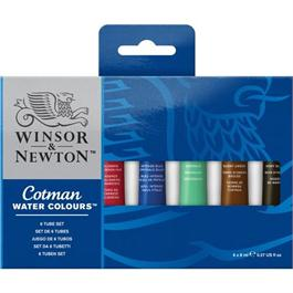 Cotman Watercolour 6 x 8ml Tube Set thumbnail