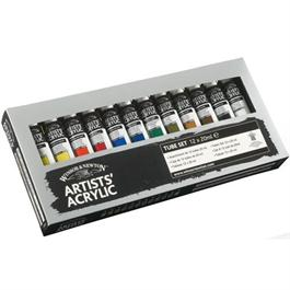 Winsor & Newton Artists Acrylic Paint Starter Set 12 x 20ml thumbnail