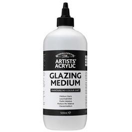 Winsor & Newton Artists' Acrylic Glazing Medium 500ml thumbnail