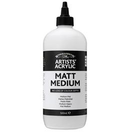 Winsor & Newton Artists' Acrylic Matt Medium 500ml thumbnail