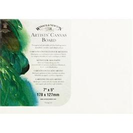 "Winsor & Newton Canvas Boards - 7"" x 5"" thumbnail"