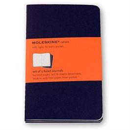 Moleskine Ruled Cahier Pocket - Kraft (Set of 3) Journal Notebook thumbnail