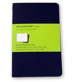 Moleskine Plain Cahier Pocket - Kraft (Set of 3) Journal Notebook thumbnail