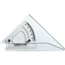 250mm Angle-Line Adjustable Set Square with Inking Edge thumbnail