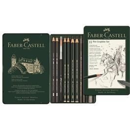 Faber Castell Pitt Graphite Set of 11 items Thumbnail Image 1