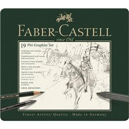 Faber Castell Pitt Graphite Set of 19 items thumbnail