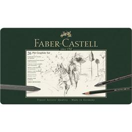 Faber Castell Pitt Graphite Set of 26 items Thumbnail Image 0