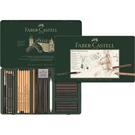 Faber Castell Pitt Monochrome Set of 33 items Thumbnail Image 1
