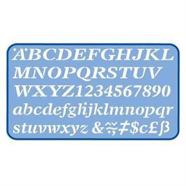 Helix Italic Stencil 20mm thumbnail