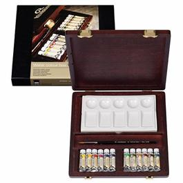 Rembrandt Traditional Water Colour Box of 12 Tubes thumbnail