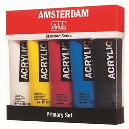 Amsterdam All Acrylics Standard Primary Set 5 x 120ml thumbnail
