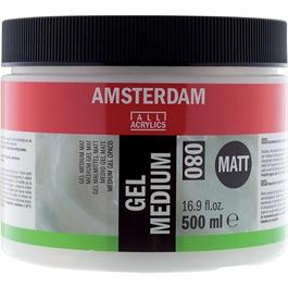 Amsterdam Acrylic Gel Medium Matt 500ml thumbnail