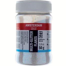 Amsterdam Multi Glitter Flakes 50Gr thumbnail