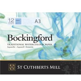 Bockingford Glued Pad A3 140lbs / 300gsm NOT thumbnail