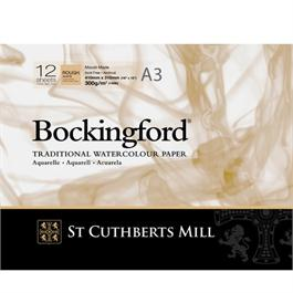 Bockingford Glued Pad A3 140lbs / 300gsm Rough thumbnail