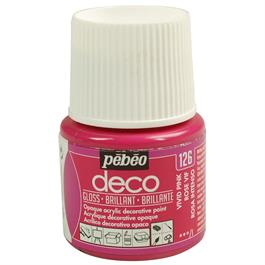 Pebeo Deco Acrylic Paints 45ml - Gloss Colours thumbnail