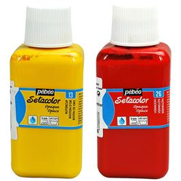 Pebeo Setacolor Fabric Paint Opaque Colours 250ml thumbnail